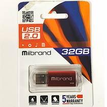 Фото товару Флеш пам`ять USB Mibrand Cougar 32Gb USB 2.0 червона