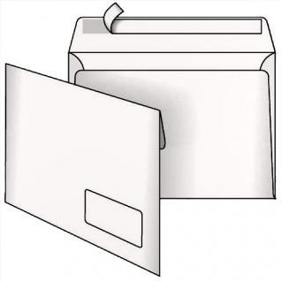 Фото товару Конверт поштовий С5 СКЛ, 80г, білий. Розмір: 229х162 мм