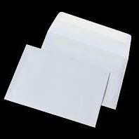 Фото товару Конверт поштовий С6 СКЛ, 80г, білий. Розмір: 114х162 мм