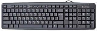 Фото товару Клавіатура Defender HB-420 B, USB, Black